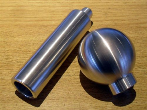 Handbrake handle & gearknob set, brushed aluminium, Mazda MX-5, 1989-2005